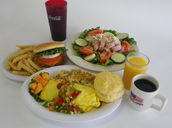 Grits Grill : Salads, Burgers, Eggs oh my!