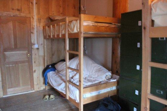 Lao Shay Youth Hostel : the dorm bedroom