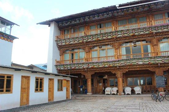 Lao Shay Youth Hostel : the hotel