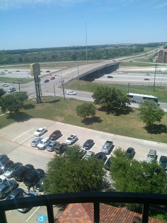 Embassy Suites by Hilton Dallas DFW Airport South: View from our balcony