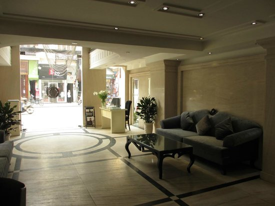Church Boutique Hotel Hang Gai: Lobby area