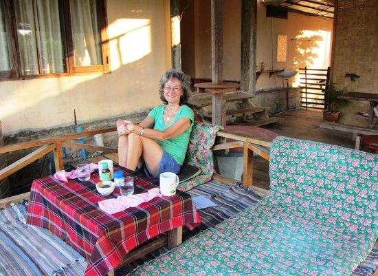 Jammee Guest House: Très bon déjeuner confortable