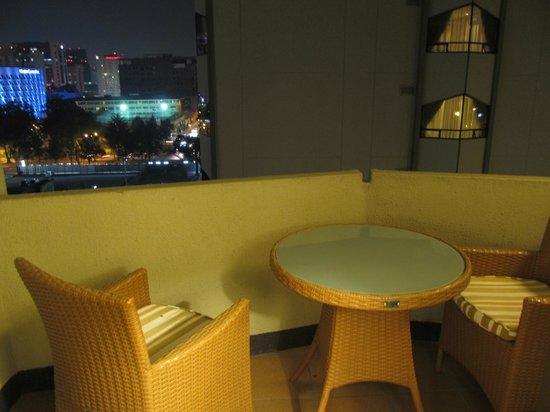 Barcelo Guatemala City: Corner balcony
