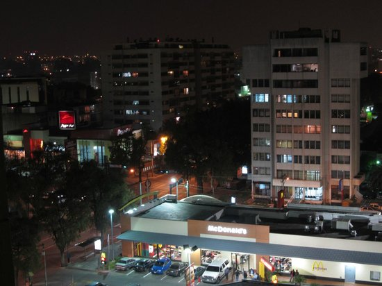 Barcelo Guatemala City: View from my room at night