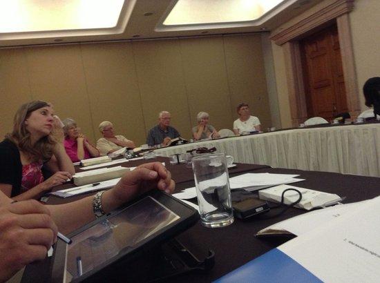 Posada Quinta Las Flores: Conference room.