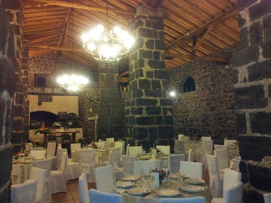 Santa Maria di Licodia, إيطاليا: sala ristorante