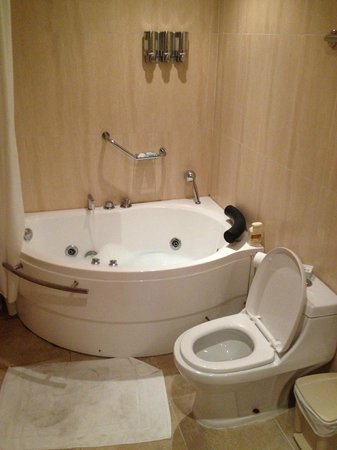 The MT Hotel: Bathroom