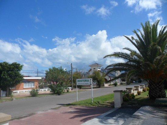 Hosteria Puerto del Ingles: cartel