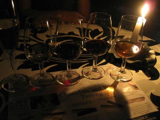 KWV: chocolate and wine tasting