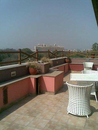 Hotel Star Rocks: Rooftop restaurant terrace