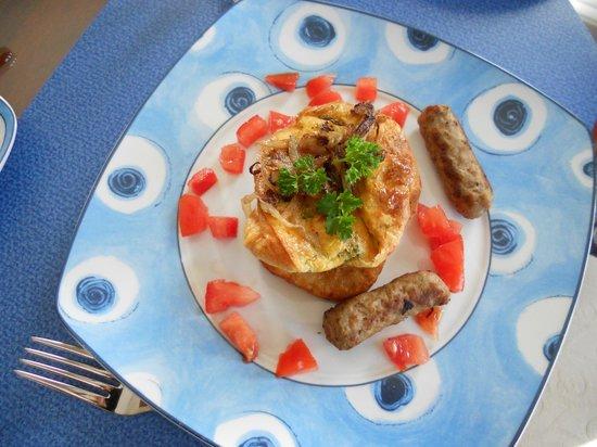 Graystone Bed and Breakfast: breakfast!