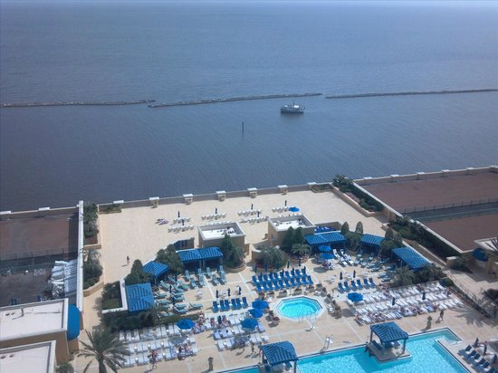 Pool View Pic 1 Picture Of Beau Rivage Resort Casino Biloxi