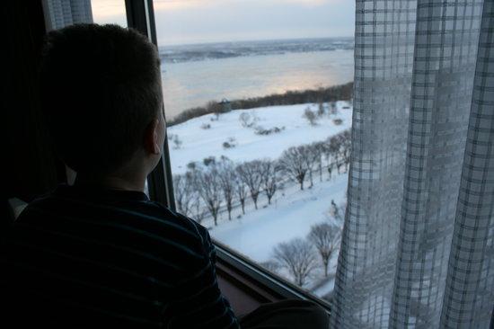 Hôtel Le Concorde Québec: La vue...