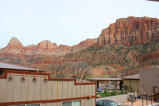 Historic Pioneer Lodge: view from hotel