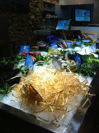 Arros I Peix: Fish counter