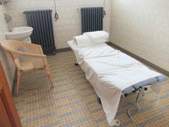 Gellert Spa : Salle de massage particulière (côté femme)