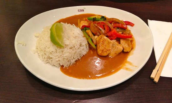 coa Asian Food & Drinks: Indonesian dish