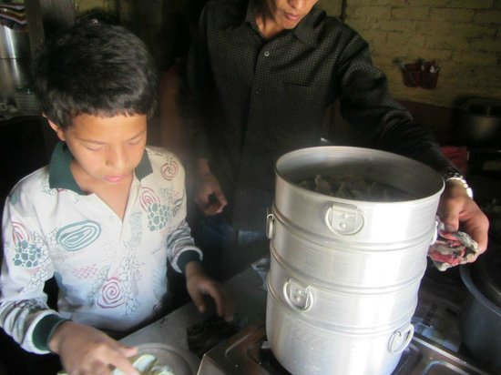 Nepali Cooking Course - Day Class: Making Momo with the son