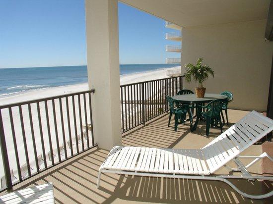 The Palms: Oversized Gulf-Front Balcony