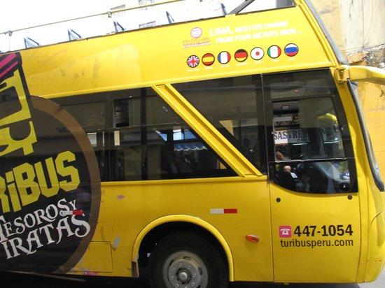 Ibis Larco Miraflores: Sightseeing bus