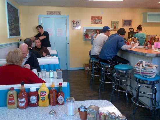 Hartland Diner: Sit at the counter or in a booth.