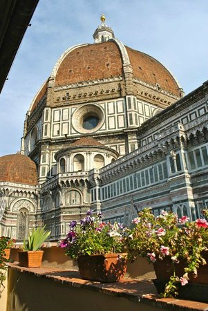Hotel Duomo Firenze: view from the terasse