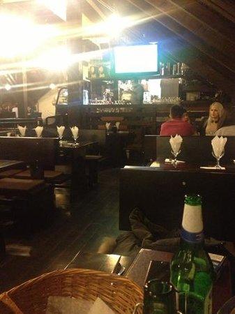 Taverna Sarbului : in the restaurant