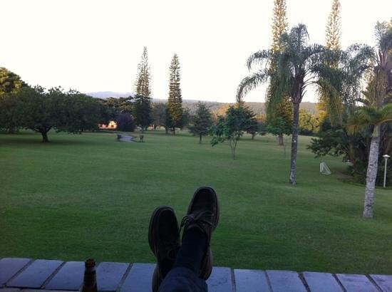Premier Hotel The Winkler: Feet up with a cold Castle lager after a safari.