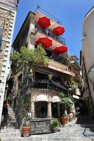 Castelmola, Itália: Bar Turrisi
