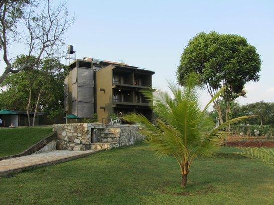 Kalu's Hideaway: les chambres donnant sur le jardin