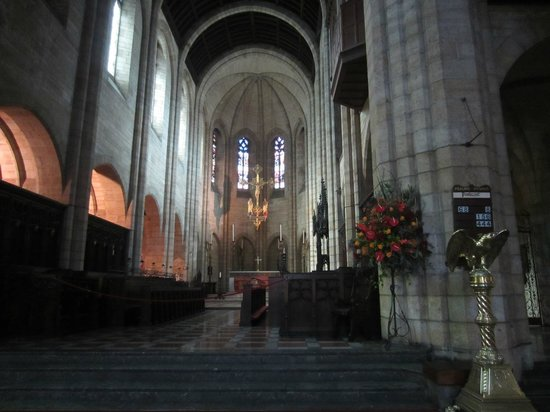 Interior of St. George's Cathedral, Cape Town