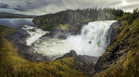 Duved, Sverige: Largest Waterfall in Sweden
