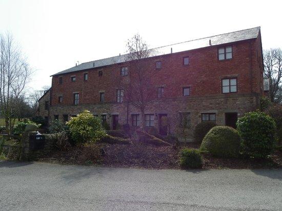 Thurnham Hall: The courtyard block