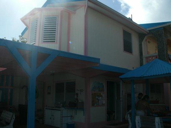 Villa Fulladoza Guest House: En el patio