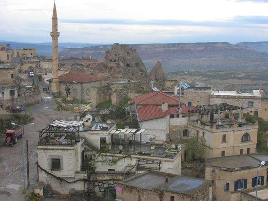 Takaev: Vue de la terrasse