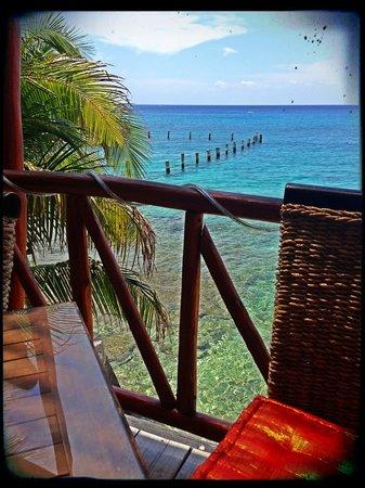 Blue Angel Resort: View from restaurant.