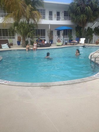 Tradewinds Apartment Hotel: Pool Area