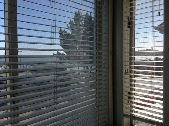 Pillar Point Inn : Window Needing Maintenance