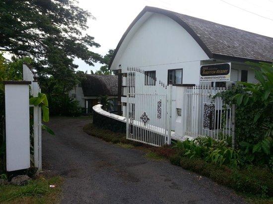 Samoa Tradition Resort: Entrance