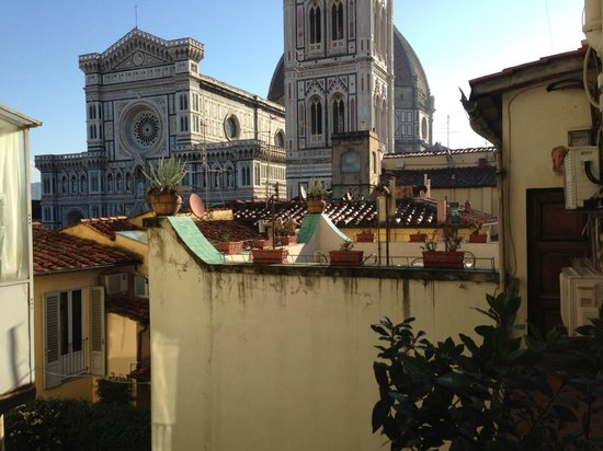 Residenza Giotto: foto taken from our room