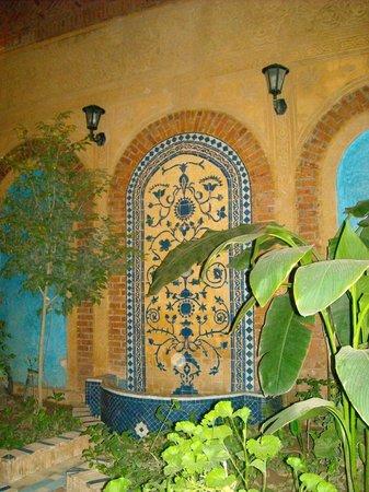 Riad Habib : la fontaine