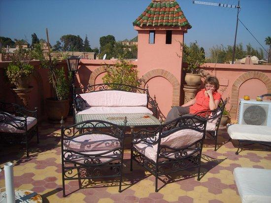 Riad Habib: la terrasse
