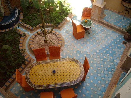 Riad Habib : patio