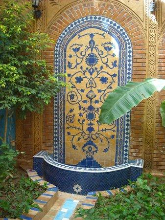 Riad Habib: le patio