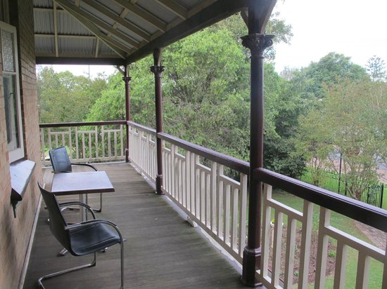 Morpeth Convent Guesthouse : Balcony
