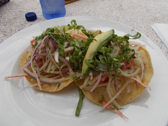 Mayan Bistro: crab taco's