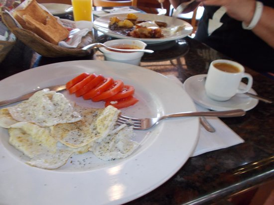 Mayan Bistro : princess breakfast