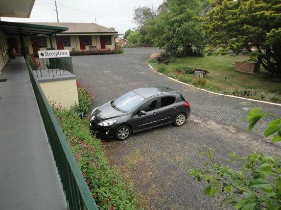 Motel Titania Oberon: Parking
