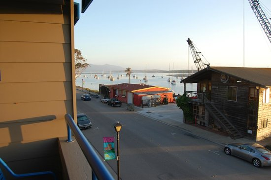 456 Embarcadero Inn & Suites: From our room