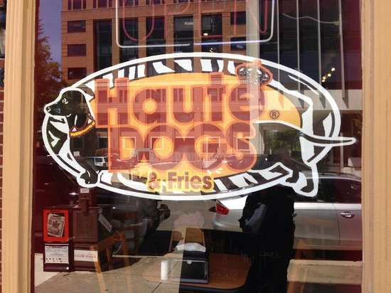Haute Dogs & Fries: front